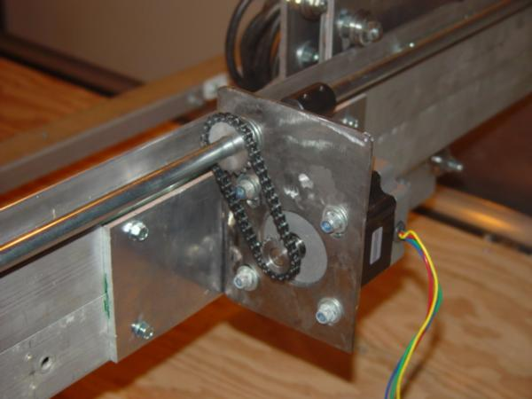 Builld your homemade cnc X Axis
